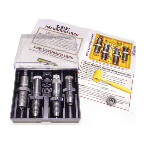 Lee Precision Ultimate 4 Die Set 6.5mm Creedmoor 90939