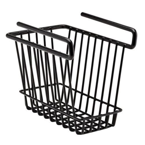SnapSafe Hanging Shelf Basket Medium Black 76010