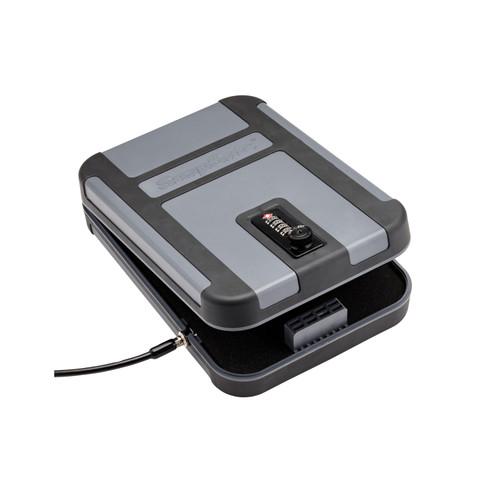 SnapSafe Teklite Lockbox X-Large TSA Combination Lock Gray w/ Black Trim 75241