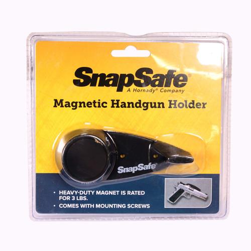 SnapSafe Magnetic Handgun Holder Black  75910