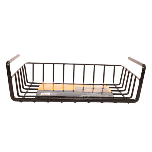 SnapSafe Hanging Shelf Basket Black  76012