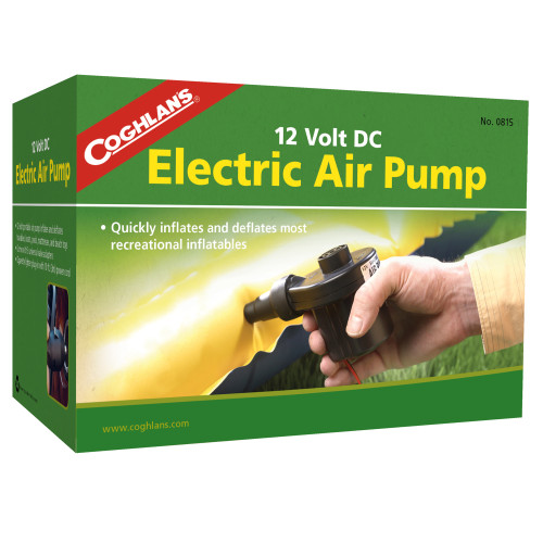 Coghlans 12V DC Electric Air Pump 0815