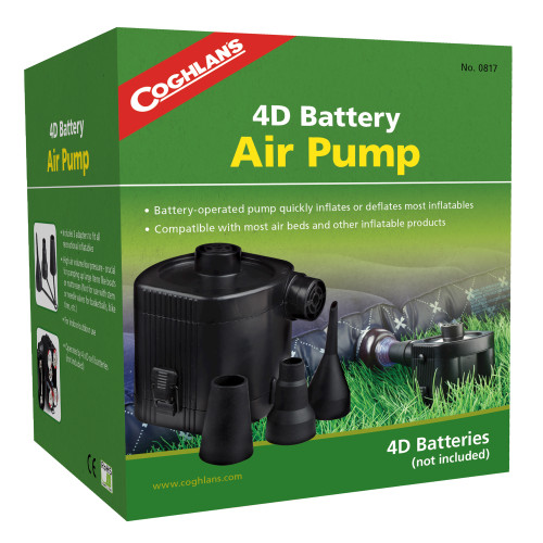 Coghlans 4D Battery Air Pump 0817