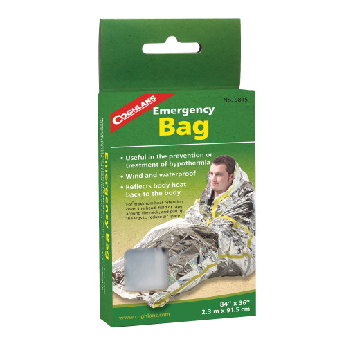 Coghlans All-Weather Emergency Bag (84in. x 36in.) 9815
