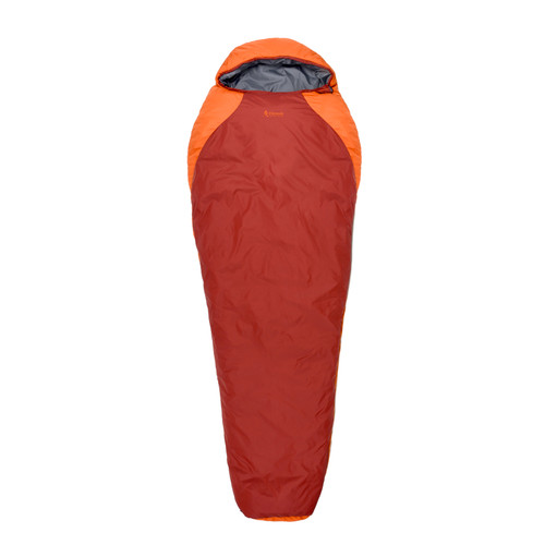 Chinook Kodiak Peak II Mummy Sleeping Bag Orange/Red 20460