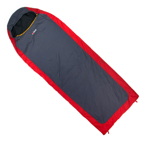 Chinook Everest Micro II Mummy Sleeping Bag Red/Grey 20631