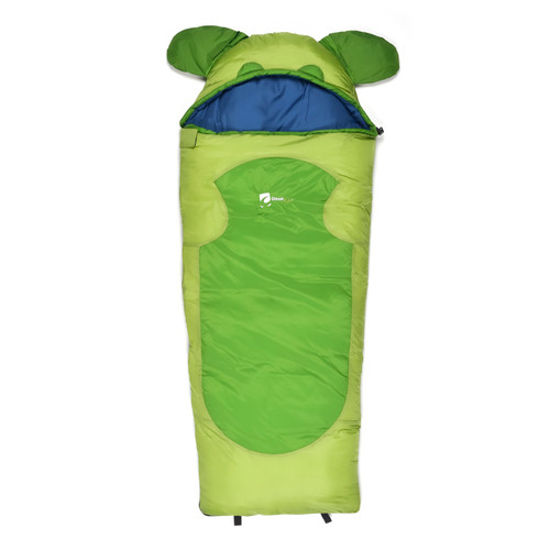 Chinook Cubs Mummy Sleeping Bag (32F) Green 20790