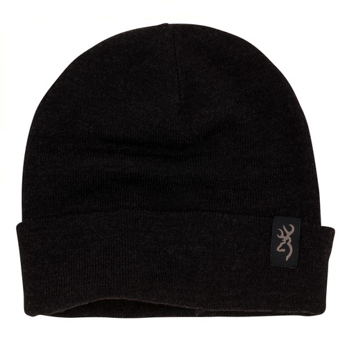 Browning High Country Merino Woven Beanie One Size Black 308620991