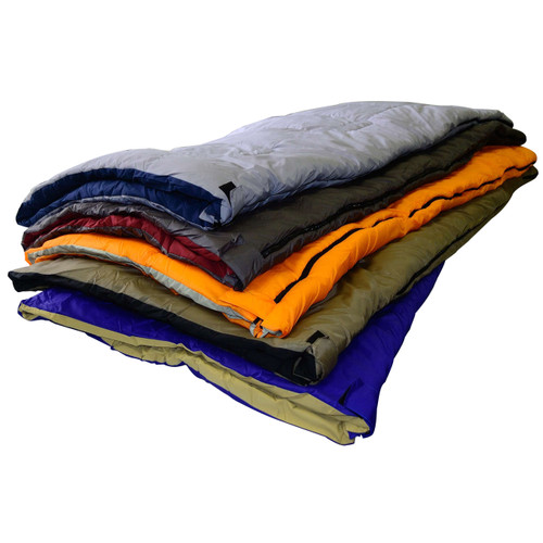 Chinook Collage Sleeping Bag Assorted Colors 15237