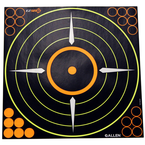 Allen Cases EZ Aim Targets Splash Bullseye Style 6-Pack 15228