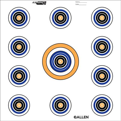 Allen Cases EZ Aim Targets 11 Spot Style 12-Pack 15208