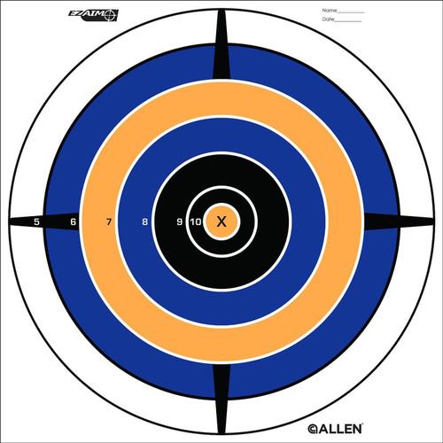 Allen Cases EZ Aim Targets Bullseye Style 12-Pack 15205