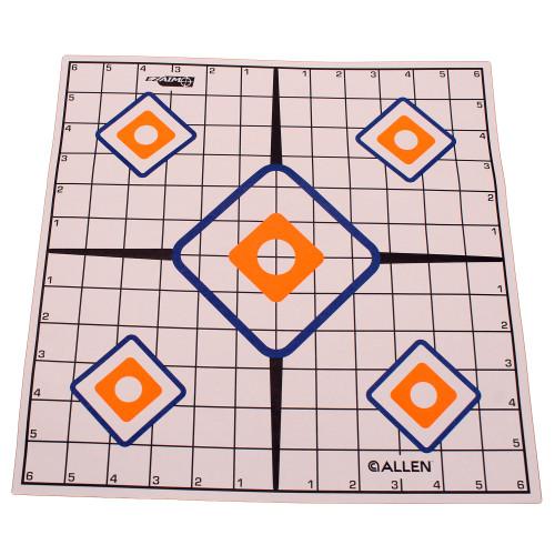 Allen Cases EZ Aim Targets Grid Style 12-Pack 15203