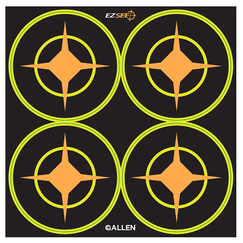 Allen Cases EZ Aim Targets Splash 3in. Round Aiming Dots 12-Pack 4 Targets Per Sheet 15253
