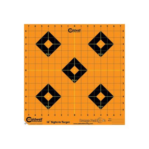 Caldwell Orange Peel Sight-In Target 16in. 5-Pack 495253