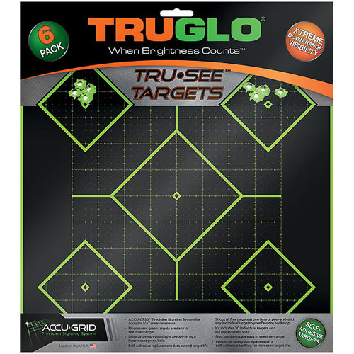 Truglo 5 Diamond Target 12in. x 12in. 6-Pack TG14A6