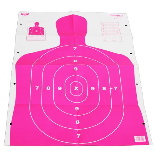 Birchwood Casey Eze-Scorer BC27 Target 23in. x 35in. 5-Pack Pink 37039