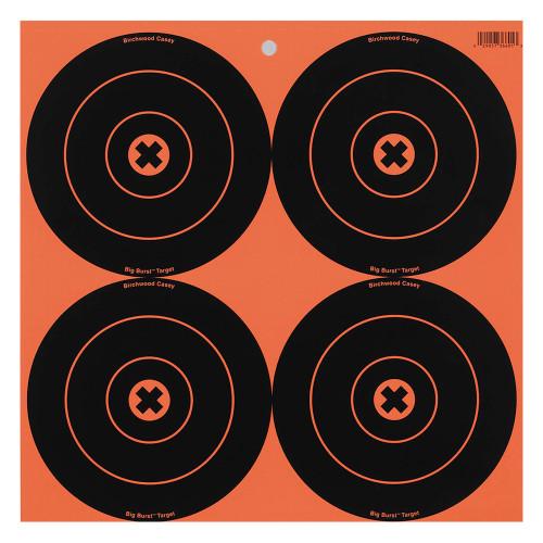 Birchwood Casey Big Burst Targets 6in. Round 12-Pack 36612