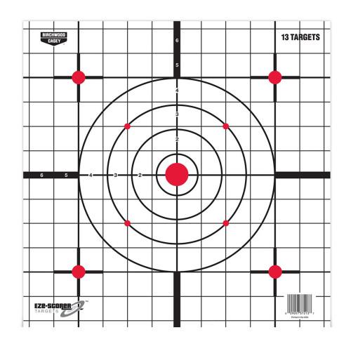Birchwood Casey Plain Paper Target Sight-In 12in. 13-Pack 37213