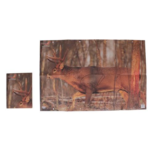 Birchwood Casey Eze-Scorer Training Deer Target 23in. x 35in. Folded 2-Pack 37481