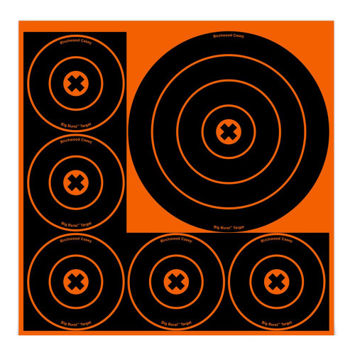 Birchwood Casey Big Burst Targets 8in. 3-Pack and 4in. 15-Pack Round 36818