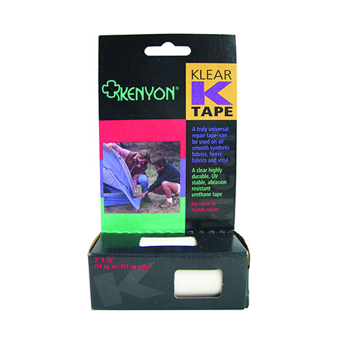 Chinook Klear K-Tape Repair (3 in. x 18in.) 62005