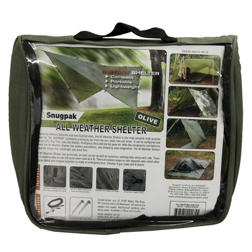 Proforce Equipment All Weather Shelter Olive  61670