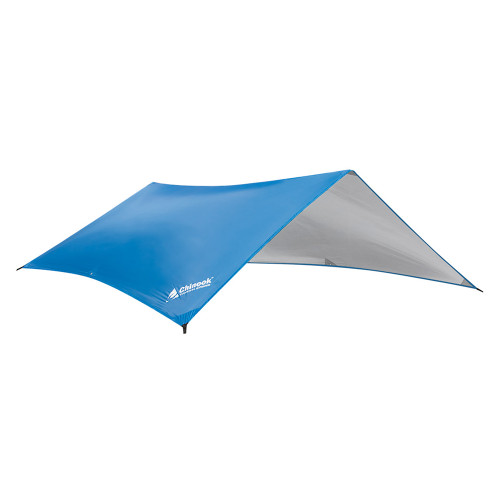 Chinook Guide Silver-Coated Tarp 6ft7in x 9ft10in Blue/Silver 11006