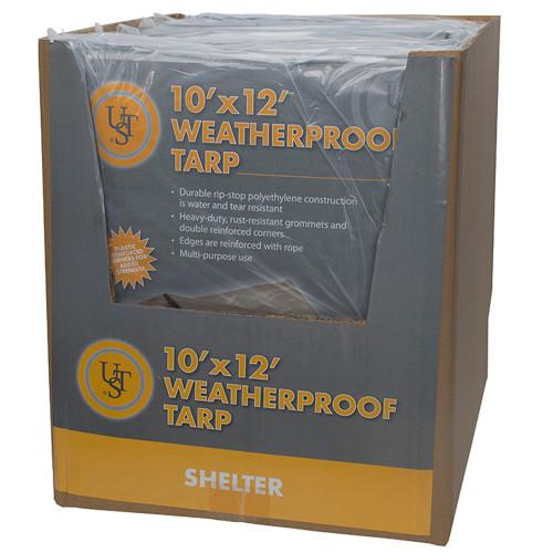Ultimate Survival Technologies Weatherproof Tarp 10ft.x 12ft.20-02727