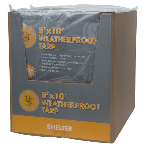 Ultimate Survival Technologies Weatherproof Tarp 8ft.x 10ft.20-02726