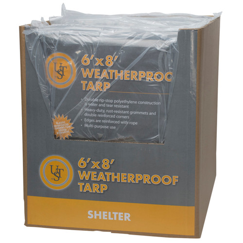 Ultimate Survival Technologies Weatherproof Tarp 6ft.x 8ft.20-02725
