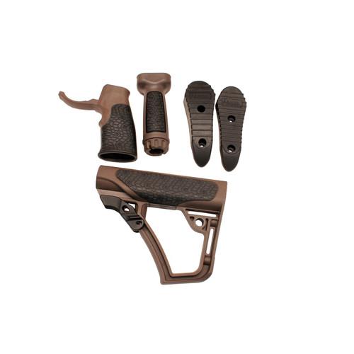 Daniel Defense Stock, Pistol Grip & Foregrip Combo MilSpec+ Brown 28-102-06145-011