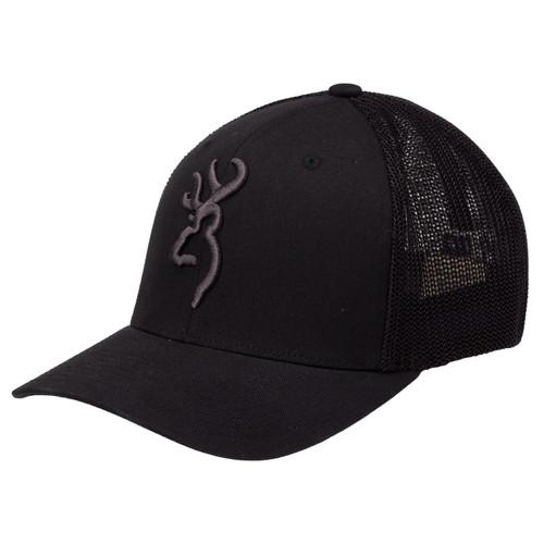 Browning Colstrip Mesh Back Cap Small/Medium Black 308702992