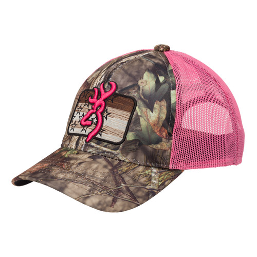 Browning Downwind Cap One Size Mossy Oak Break-Up Country/Pink 308579511