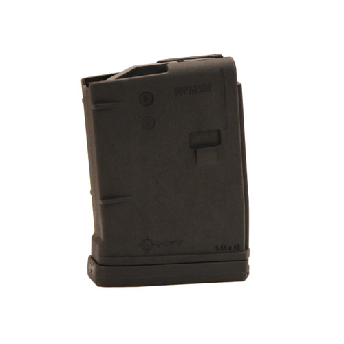 Mission First Tactical AR15 Magazine Black 10rd 10PM556BAG-BL