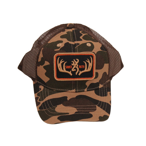 Browning Racked Cap One Size Camo Brown 308299881
