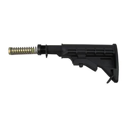 Tapco AR15 Collapsible MilSpec T6 Stock Black 16763