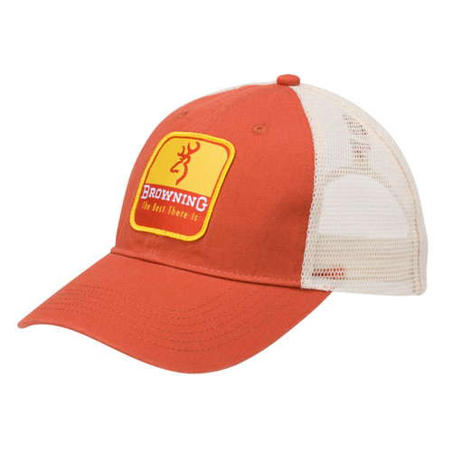 Browning Skimmer Cap with Snapback One Size Orange 308719621