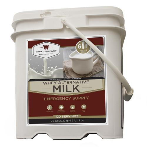 Wise Foods 120 Serving Milk Bucket Powdered Whey MK01-120