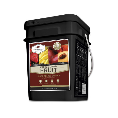 Wise Foods Freeze Dried Fruit Gluten Free 152 Servings WGF40-50156