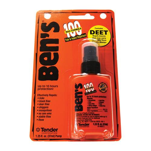 Adventure Medical Ben's Tick & Insect Repellent 100 MAX 1.25oz Pump 1ea 0006-7070