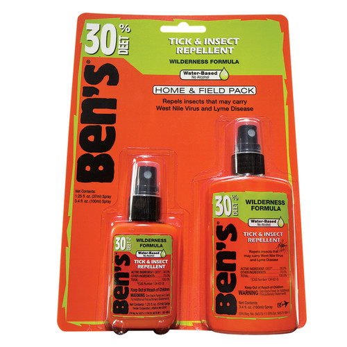 Adventure Medical Ben's Tick & Insect Repellent Home & Field Pack 3.4oz & 1.25oz 0006-7185