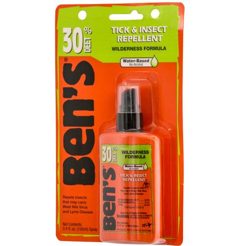 Adventure Medical Ben's Tick & Insect Repellent 30 3.4oz Pump 0006-7187