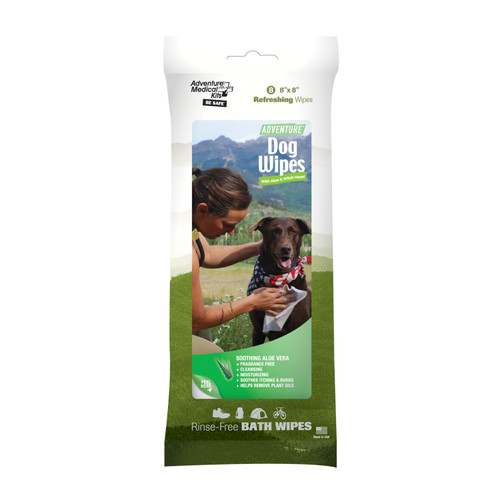 Adventure Medical Adventure Dog Wipes (8/Pack) 0170-0308