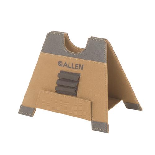 Allen Cases Alpha-Lite Folding Gun Rest, Medium (5.5 in.), Brown 18405
