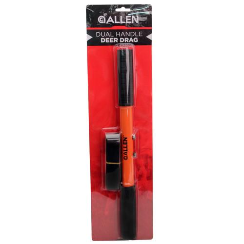Allen Cases Dual Handle Deer Drag, Orange/Black 3315