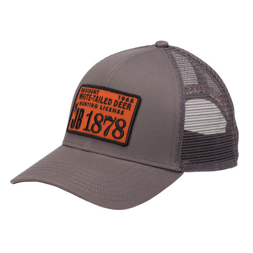 Browning License Cap with Snapback One Size Gray 308760791