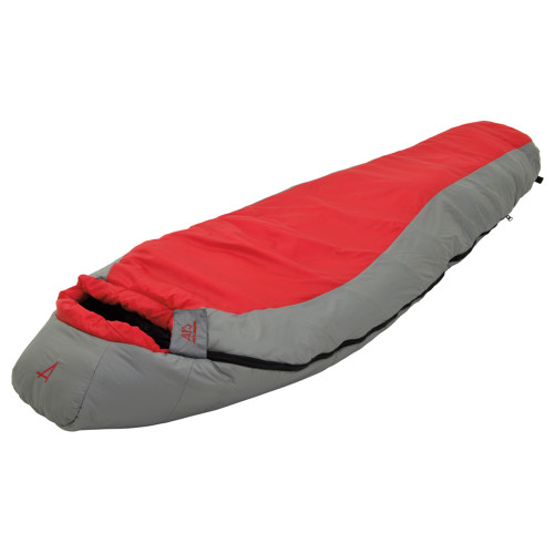 Alps Mountaineering Red Creek Plus 30 Degrees Regular, Scarlet/Grey 4501424