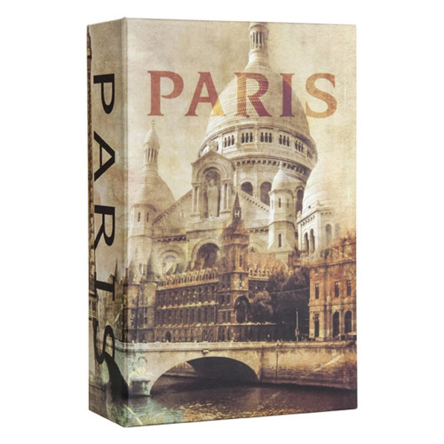 Barska Optics Paris Book Lock box with Combination Lock CB12362