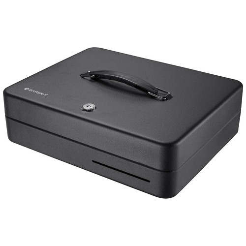 "Barska Optics 12"" Standard Fold Out Cash Box w/Key Lock CB13052"